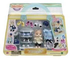 Epoch Everlasting Play Calico Critters Shoe Shop Collection Fashion Playset