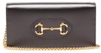 Gucci 1955 Horsebit Mini Leather Cross-body Bag - Womens - Black