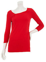 As Is Mark of Style by Mark Zunino 3/4 Sleeve Knit Top