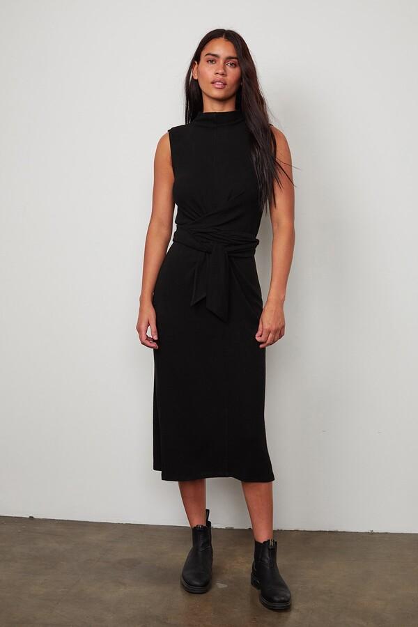 Velvet by Graham & Spencer Peni Mock Neck Dress