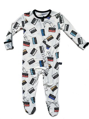 Cassettes Fitted One-Piece Pajamas
