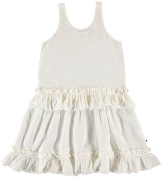 Molo White Star Charlotte Dress