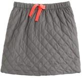 J.Crew Girls' quilted puffer skirt