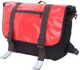 Token Lorimer Vinyl Messenger Bag (Large) - Red Messenger Bags