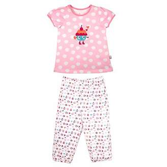 Camilla And Marc Girl Funny Game Short Sleeved Pyjamas - Size 2/3 Years (92/98 cm)