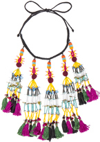 Etro Tassel Beaded Necklace