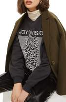 Topshop Women's By And Finally Joy Division Sweatshirt