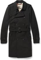 Burberry Sandringham Long Cotton-Gabardine Trench Coat