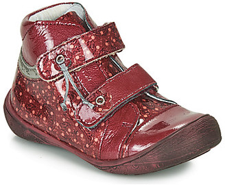 GBB NICOLINE girls's Mid Boots in Red