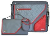 JJ Cole Metra Diaper Bag, Crimson Arbor by