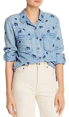 BILLY T Puppy Love Printed Button-Down Shirt