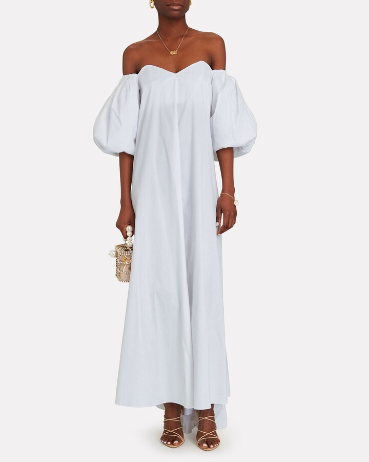 Thumbnail for your product : Caroline Constas Palmer Off-the-Shoulder Maxi Dress