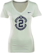 Nike Women's Short-Sleeve Derek Jeter Commemorative Logo T-Shirt