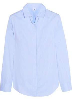 Iris & Ink Thea Cotton-poplin Shirt