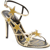 RED Valentino Women's Patched Stars Leather Sandal
