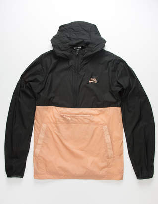 Nike Sb Skate Black & Khaki Mens Anorak Jacket