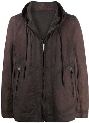 Isaac Sellam Experience Hooded Zip-Up Jacket