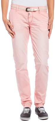 Timezone Women's 16-0166 New MillaTZ chino pants incl. belt16-0166 Chino Trousers