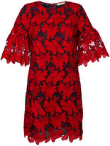 Tory Burch textured print dress - women - Polyester - 0