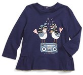 Little Marc Jacobs Infant Girl's Essential Fancy Tee