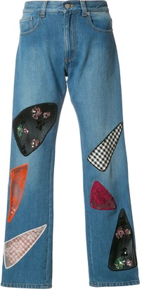 Christopher Kane Patchwork Jeans