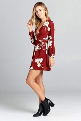 Racine Red Floral Dress