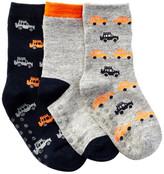 Joe Fresh Crew Socks - Pack of 3 (Toddler Boys)