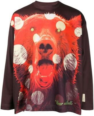 Walter Van Beirendonck Pre-Owned 1996/97's Wonderland Bear with Balls T-shirt