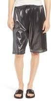 Ivy Park Metallic Mesh Longline Shorts