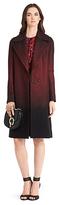 Diane von Furstenberg Nala Printed Wool Coat