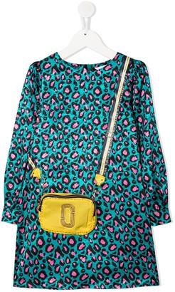Little Marc Jacobs Crossbody Bag-Print Dress