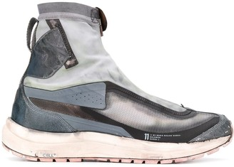 11 By Boris Bidjan Saberi front zip boots