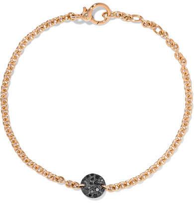 Pomellato Sabbia 18-karat Rose Gold Diamond Bracelet