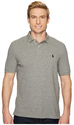 Polo Ralph Lauren Classic Fit Mesh Polo (White) Men's Clothing