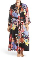 Natori Plus Size Women's Print Robe