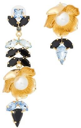 Erdem Blossom Cluster earrings
