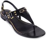 Lauren Ralph Lauren Valinda T-Strap Slingback Thong Sandals