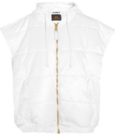 Vetements Alpha Industries Oversized Quilted Shell Gilet - White