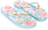 Monsoon Tropical Lotus Eva Flip Flops