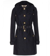 Burberry Levinford hooded cotton-blend trench coat