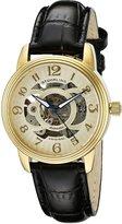 Stuhrling Original Women's Classique Delphi Omega tone Skeleton Watch 107EL.113531