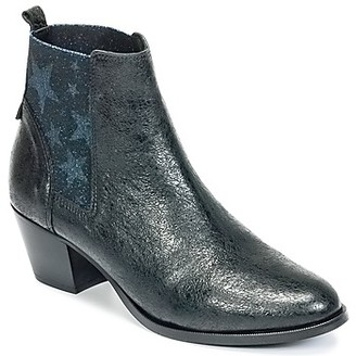 Lollipops ASTRAL BOOTS women's Low Ankle Boots in Blue