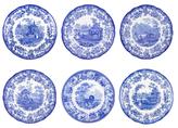 Spode Blue Room Zoological Plates (Set of 6)