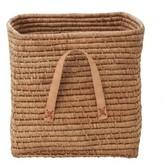 Rice Storage box 30 cm - natural