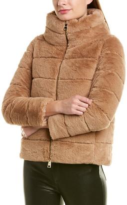 Herno Short Fuzzy Jacket