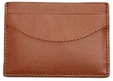 Skagen Men's Leather Card Case - Metallic