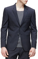 Burberry Modern-Fit Wool/Cashmere Jacket, Navy