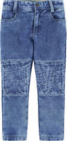 Little Marc Jacobs Boy regular fit fleece jeans