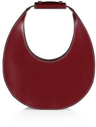 STAUD Moon Leather Hobo Bag