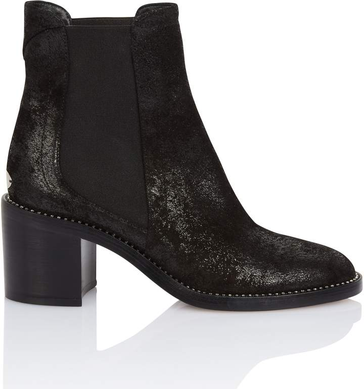 Jimmy Choo Merrill Black Suede Ankle Boot